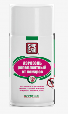 , Аэрозоль Safe and Care репелентный от комаров, Safe and Care