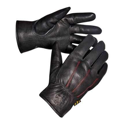 Перчатки ВОСТОЧНЫЕ ТИГРЫ G155 кожаные